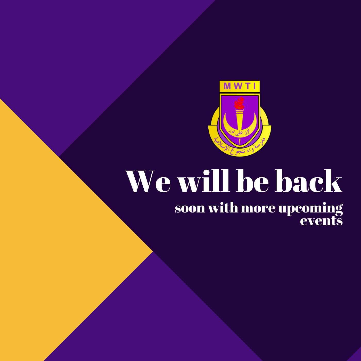 We will be back with more upcoming events (2)