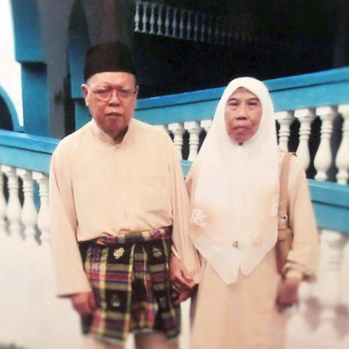 Ustaz Mohd Noor and Ustazah Hamiyah